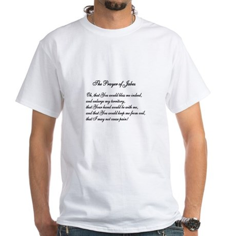 The Prayer of Jabez White T-Shirt