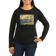 Fallen Leaf Boat Dock T-Shirt