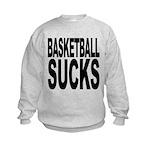 basketballsucksblk.png Kids Sweatshirt