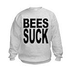beessuck.png Kids Sweatshirt