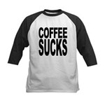 coffeesucks.png Kids Baseball Jersey
