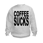 coffeesucks.png Kids Sweatshirt