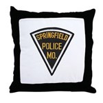 Springfield Police Throw Pillow