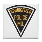 Springfield Police Tile Coaster