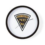 Springfield Police Wall Clock