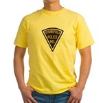Springfield Police Yellow T-Shirt