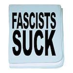 fascistssuck.png baby blanket
