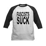 fascistssuck.png Kids Baseball Jersey