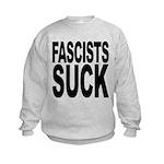 fascistssuck.png Kids Sweatshirt