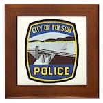 Folsom Police Framed Tile