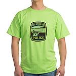 Folsom Police Green T-Shirt