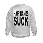 hairbandssuck.png Kids Sweatshirt