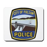Folsom Police Mousepad