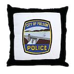 Folsom Police Throw Pillow