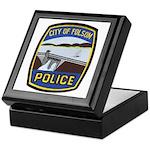 Folsom Police Keepsake Box