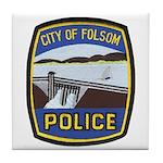 Folsom Police Tile Coaster