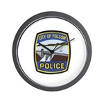 Folsom Police Wall Clock