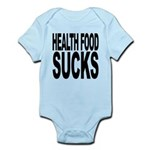 healthfoodsucks.png Infant Bodysuit