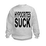 hypocritessuck.png Kids Sweatshirt
