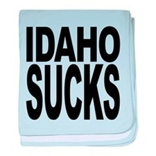 idahosucks.png baby blanket