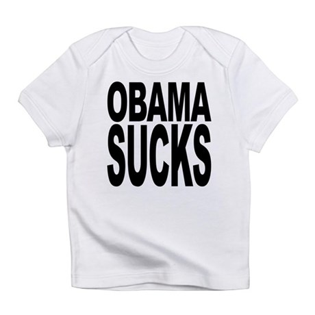 obamasucksblk.png Infant T-Shirt