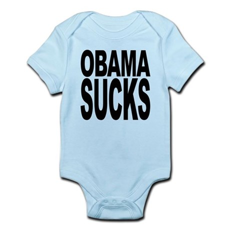 obamasucksblk.png Infant Bodysuit