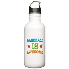 Baseball Is Awesome Water Bottle