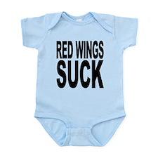redwingssuck.png Infant Bodysuit