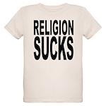 religionsucksblk.png Organic Kids T-Shirt