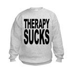 therapysucks.png Kids Sweatshirt