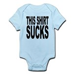 thisshirtsucksblk.png Infant Bodysuit