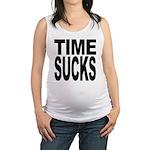 timesucks.png Maternity Tank Top