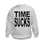 timesucks.png Kids Sweatshirt