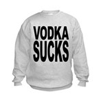 vodkasucks.png Kids Sweatshirt