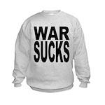 warsucksblk.png Kids Sweatshirt