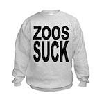 zoossuck.png Kids Sweatshirt