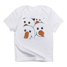 Gang of 4 Snowmen New Design Infant T-Shirt