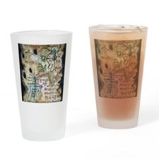The Zombie Formula Drinking Glass