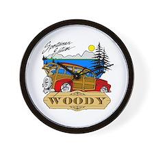Woody Sportsman Edition Wall Clock