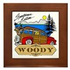 Woody Sportsman Edition Framed Tile