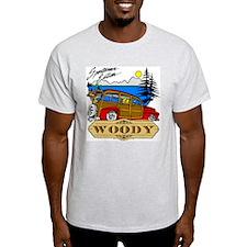 Woody Sportsman Edition Ash Grey T-Shirt