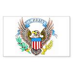 U.S. Army Eagle Rectangle Sticker
