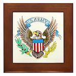 U.S. Army Eagle Framed Tile