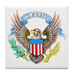 U.S. Army Eagle Tile Coaster
