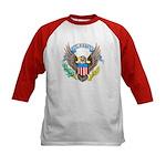 U.S. Army Eagle (Front) Kids Baseball Jersey