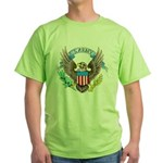 U.S. Army Eagle (Front) Green T-Shirt