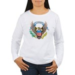 U.S. Army Eagle (Front) Women's Long Sleeve T-Shir