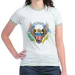 U.S. Army Eagle (Front) Jr. Ringer T-Shirt