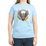 U.S. Army Eagle (Front) Women's Pink T-Shirt