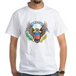 U.S. Army Eagle (Front) White T-Shirt